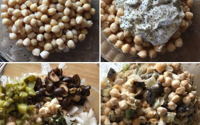 Delicious Vegan ChickPea Salad
